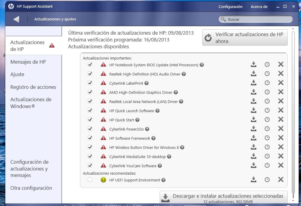 Foro HP - aviso de hp support assistant - Foro de los usuarios HP ...