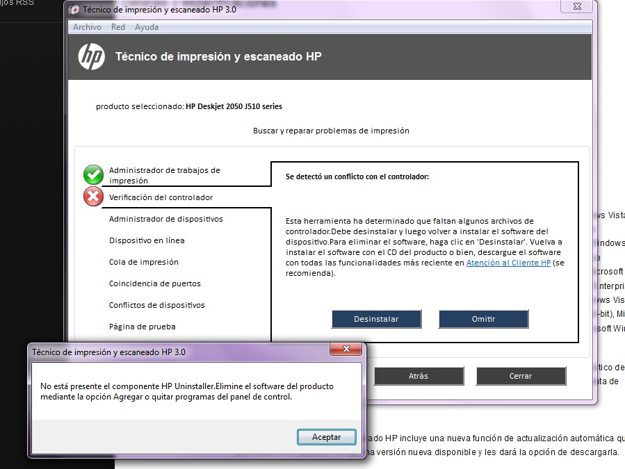 software para impressora hp 2050