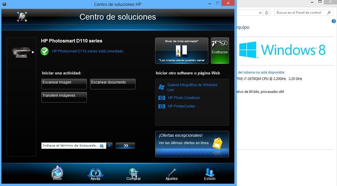 Hp photosmart d110 driver windows 10 Download Latest Version