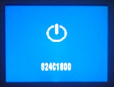 Error con pantalla azul y codigo de error