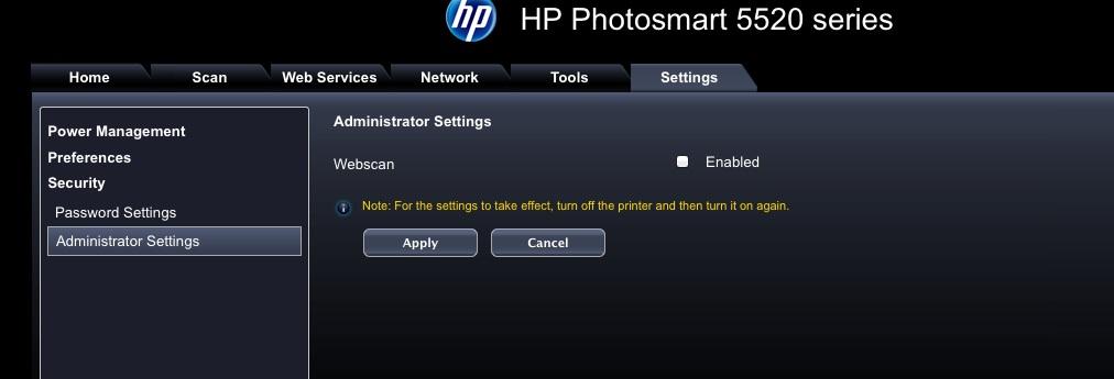 Solucionado Foro Hp Escaner Desactivado En Impresora