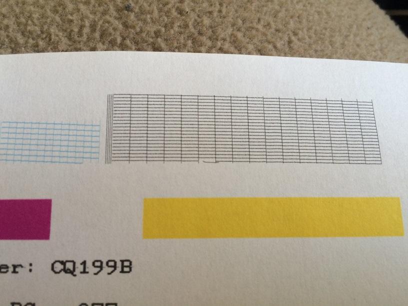 Mi Impresora Hp Deskjet 2050a Imprime Sombra En Lo