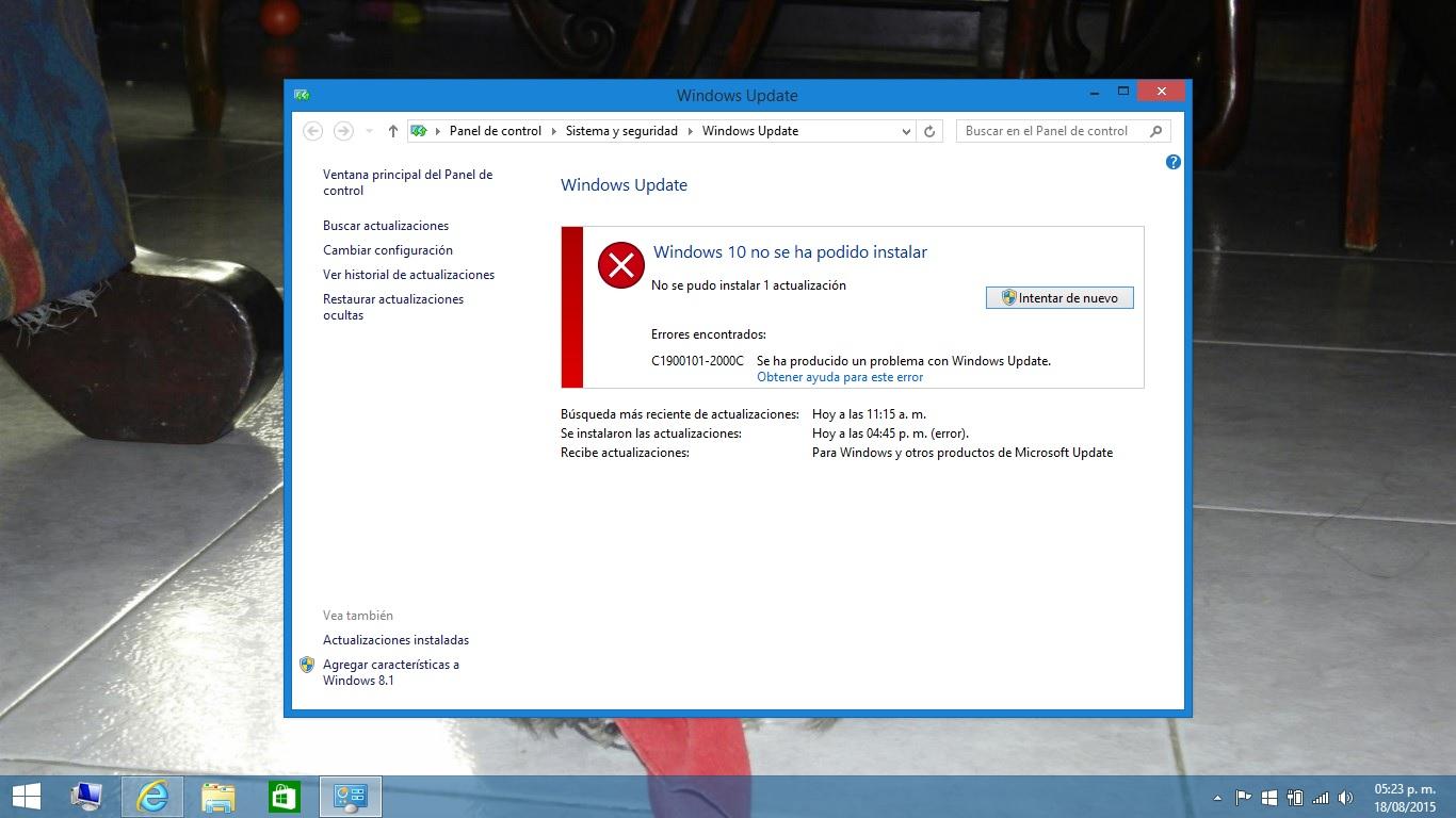Solucionado: Foro HP - No puedo actualizar a Windows 10 - Foro de ...