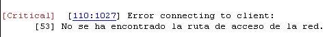 error al importar linux.jpg