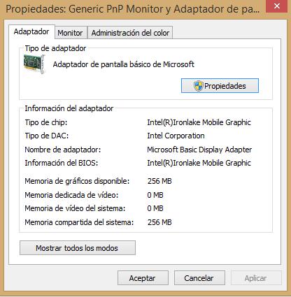 Driver de Intel HD Graphics Video para HP Eliteboo