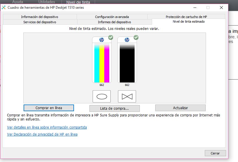 Hp 1510 no imprime color negro - Comunidad de Soporte HP - 637378