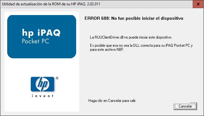 error hp hx4700 actualizar rom1.png