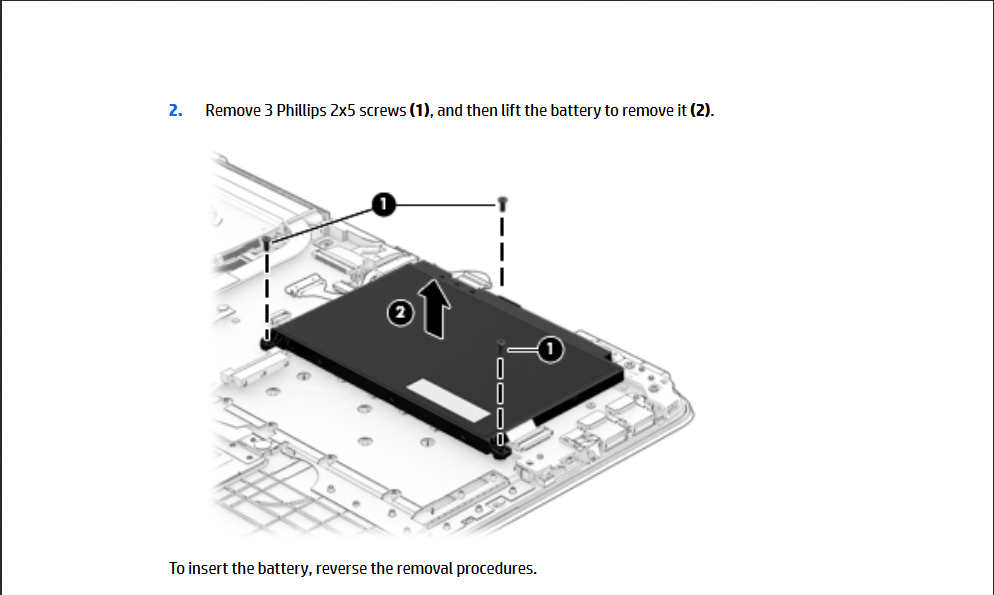 Solucionado: Remplazar Bateria HP Pavilion 15-aw003la