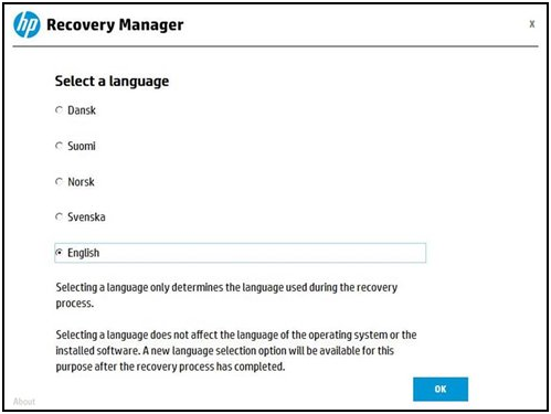Seleccionar un idioma