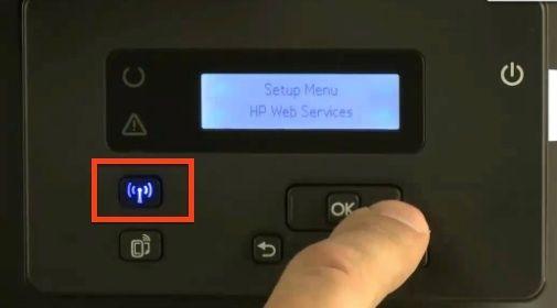 Laserjet M201 botón inalámbrico
