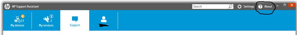 En esta parte puedes actualizar HpSa.