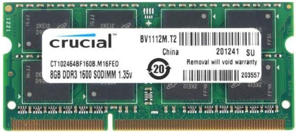 Ejemplo 2 de RAM SO-DIMMs (204-pin) sockets