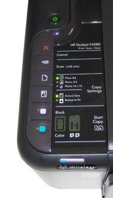 Deskjet F4580 botones.         ferrx