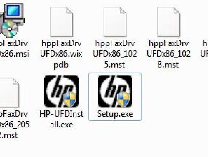 Los 2 Archivos EXE ejecutables