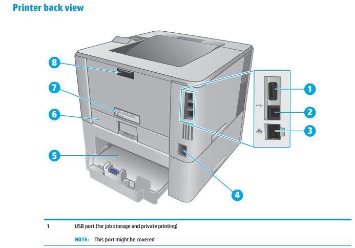 Conectar USB en la impresora.   ferrX