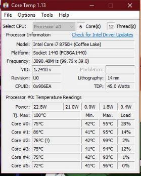 Temperaturas al Jugar