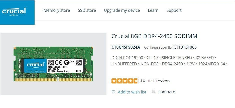 RAM 8GB, 260-pin SODIMM, DDR4 PC4-19200, CT8G4SFS824A.jpg