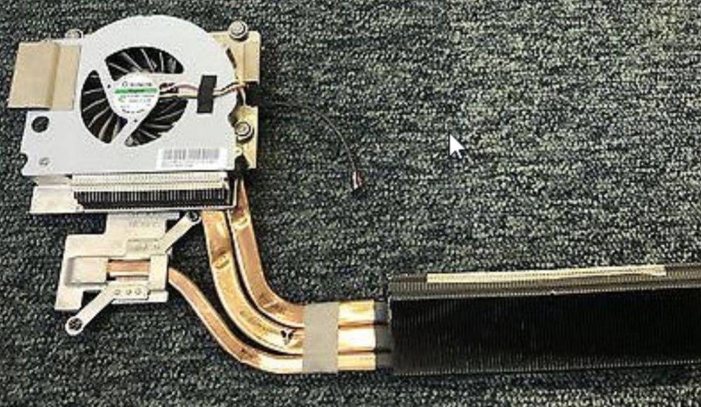 Disipador de procesador y tarjeta gráfica