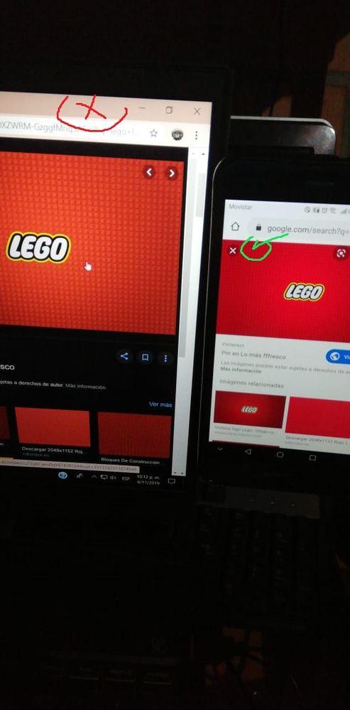 Aquí el rojo se ve mas hacia los naranjas en mi laptop