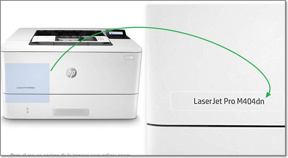 Laserjet modelo.           ferrx