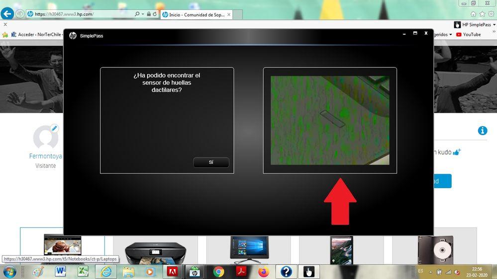 rayas al ver video de hp