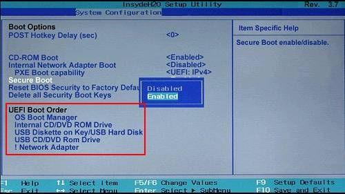 Disco SSD en primera opción de arranque