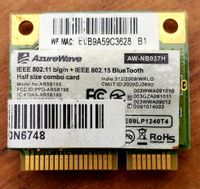 AzureWave AW-NB037H (Atheros AR5B195) WiFi-Bluetooth mPCI-E
