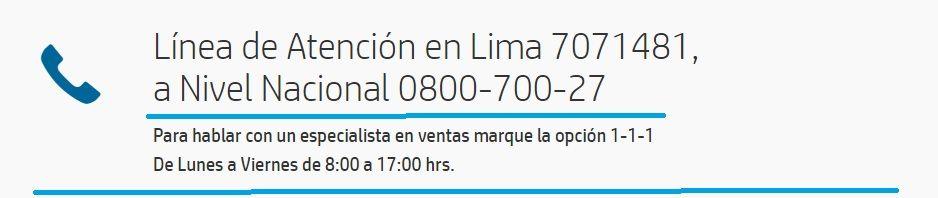 HP Soporte - Peru.                        ferRX