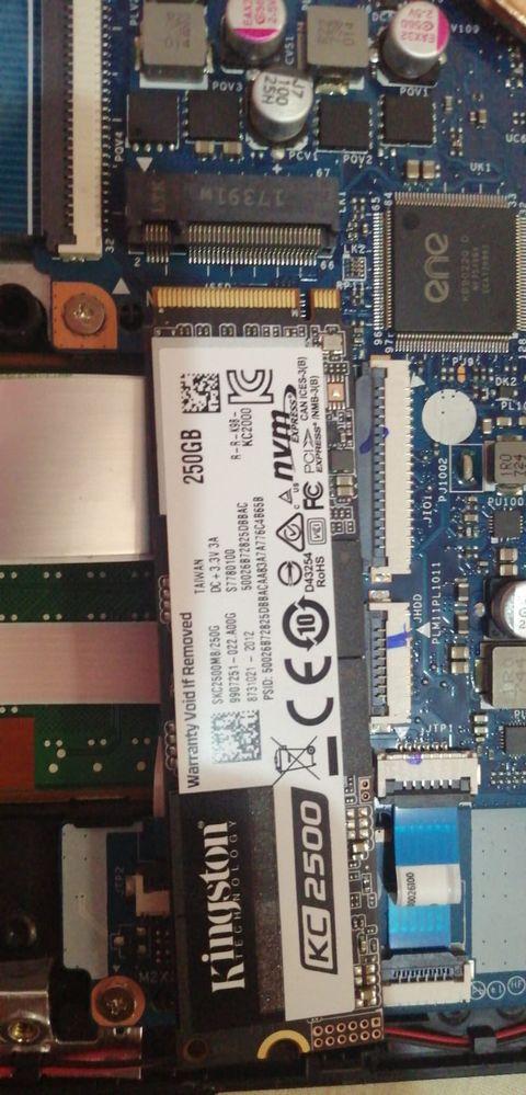 SSD M.2 NVEM de 240GB