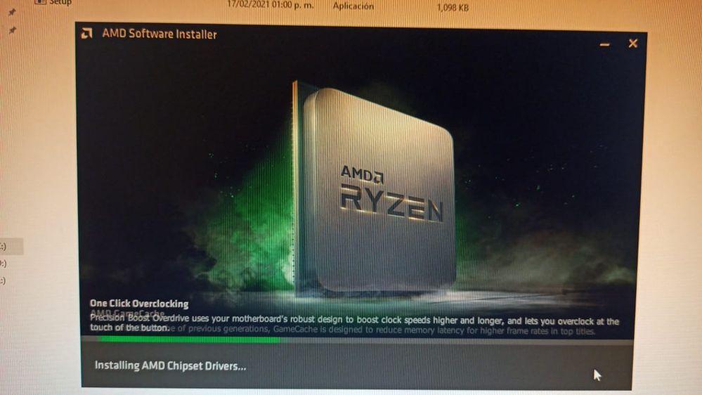 instalacion driver AMD