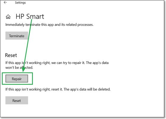 HP Smart repara  - ferRX